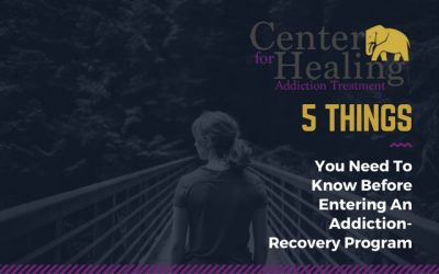 5 Things You Need To Know Before Entering An Addiction-Recovery Program