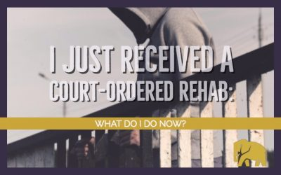 I Just Received A Court-Ordered Rehab: What Do I Do Now?