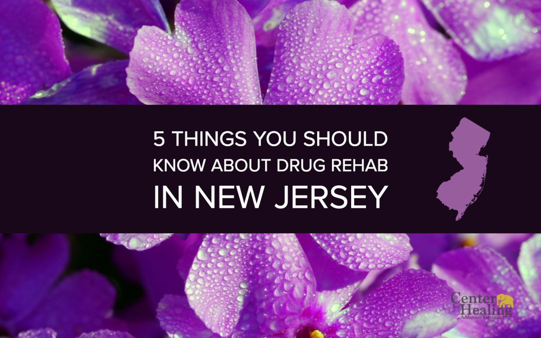 5 Things You Should Know About Drug Rehab In New Jersey