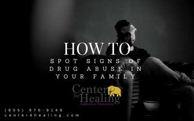 How To Spot Signs Of Drug Abuse In Your Family