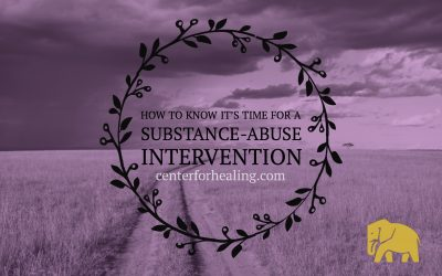 How to Know It's Time For A Substance-Abuse Intervention